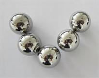 "1-25/32"" Chrome Steel Balls (Lot of 5)"